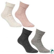 leuke wollen sokken die geen naadjes op de tenen hebben