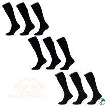 kniekousen of lange sokken merino wol