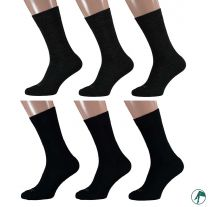 sokken van merino wol met dubbel voetbed en geen naadjes op de tenen