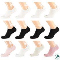 No show sneaker sokken van bio katoen