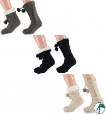 warme sokken met noppen