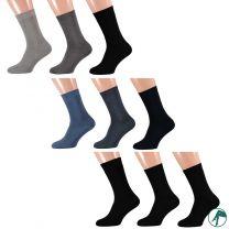 badstof sokken zonder naadjes
