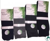 dikke bamboe sokken met dubbele badstof zool
