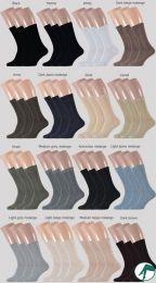 dunne heren sokken zonder naad op de tenen