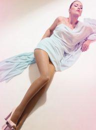Panty zijdeglans 20 denier nude look van Giulia