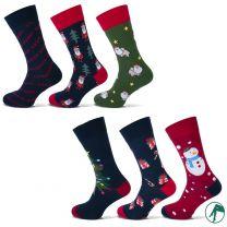 kerst heren sokken