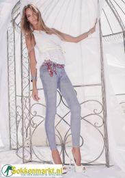 jeans legging van trasparenze