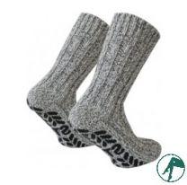 Noorse sokken wol anti slip noppen