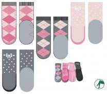 sokken met leren zool