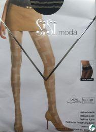 zwarte fantasie panty Sisi