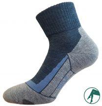 naadloze wollen wandelsokken voor droge voeten