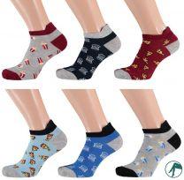 leuke naadloze sneaker sokken