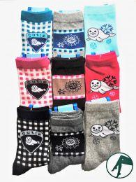 kinder sokken met dieren zeehond