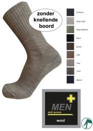 sokken die geen elastiek in het boord hebben