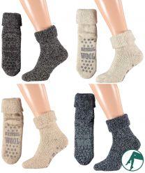 sokken van wol met noppen