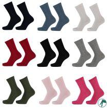 zuiver bio katoenen kinder en dames sokken