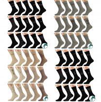 zwarte grijze blauwe beige en marine heren sokken