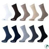Heren sokken katoen naadloos per paar.